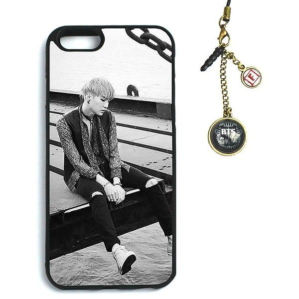 Fanstown BTS KPOP in the mood for love iphone6 case Dust plug charm ($8) ❤ liked on Polyvore featuring accessories, tech accessories, bts and phone cases