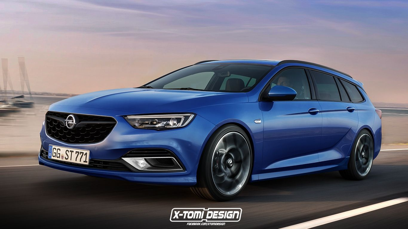 2018 Opel Insignia Opc Rendered In Sports Tourer Form Autoevolution Inside Opel Insignia 2018 Specs And Review