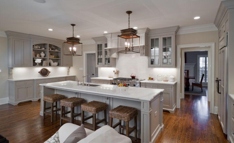 Grau Küchenschränke | Küche | Pinterest | Graue küchenschränke ...
