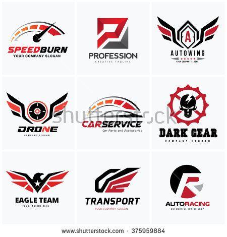 stock-vector-automotive-logo-set-auto-set-car-services-logo ...