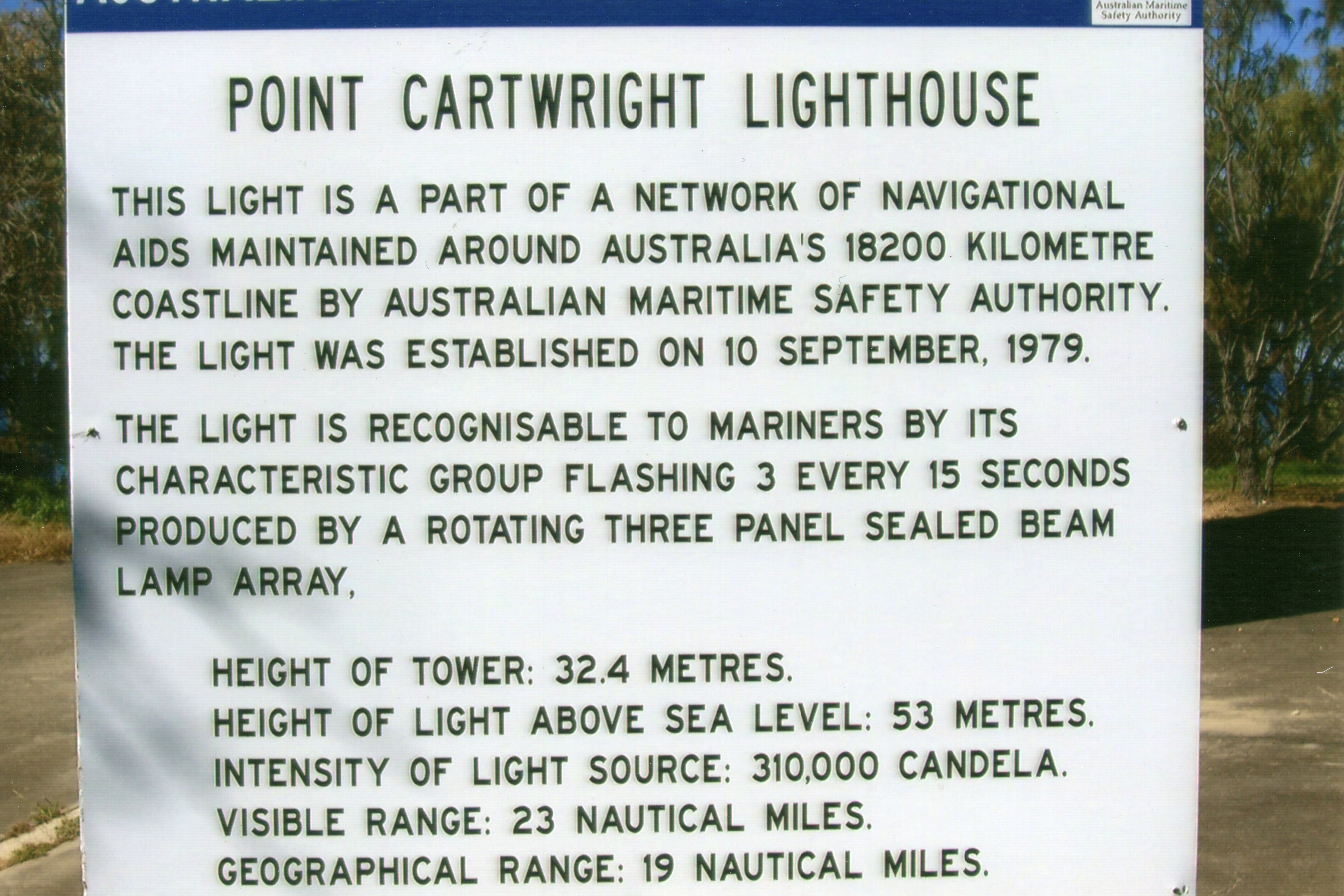 Point Cartwright Lighthouse