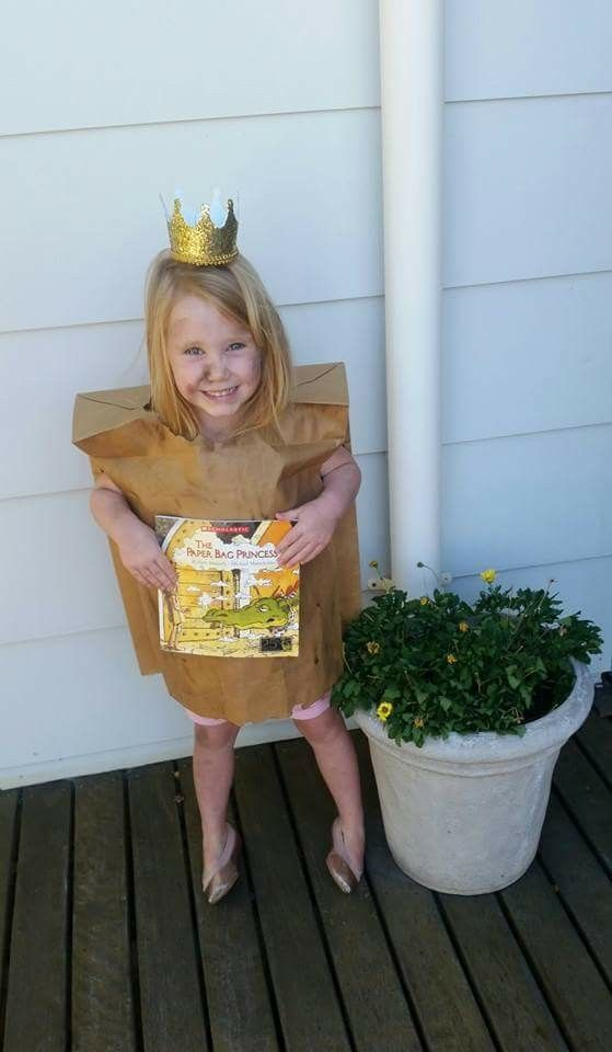 Paper Bag Princess #paperbagprincesscostume Paper Bag Princess #paperbagprincesscostume