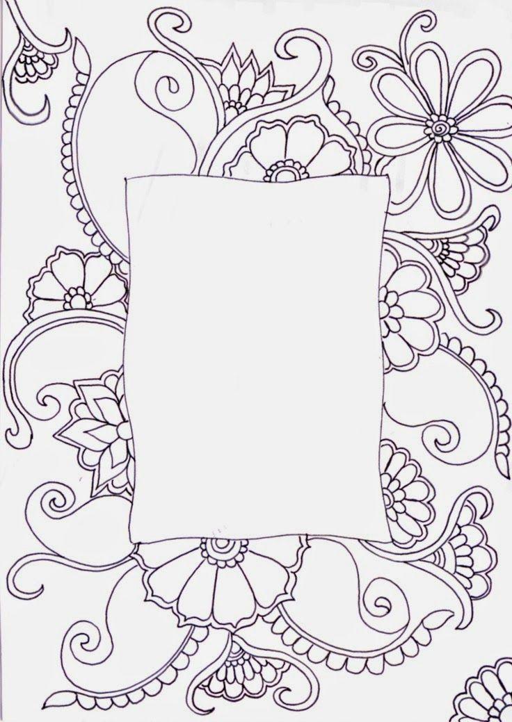Yetiskinler Icin Boyama Sayfalari Zentangle Drawings Zentangle Flowers Drawings