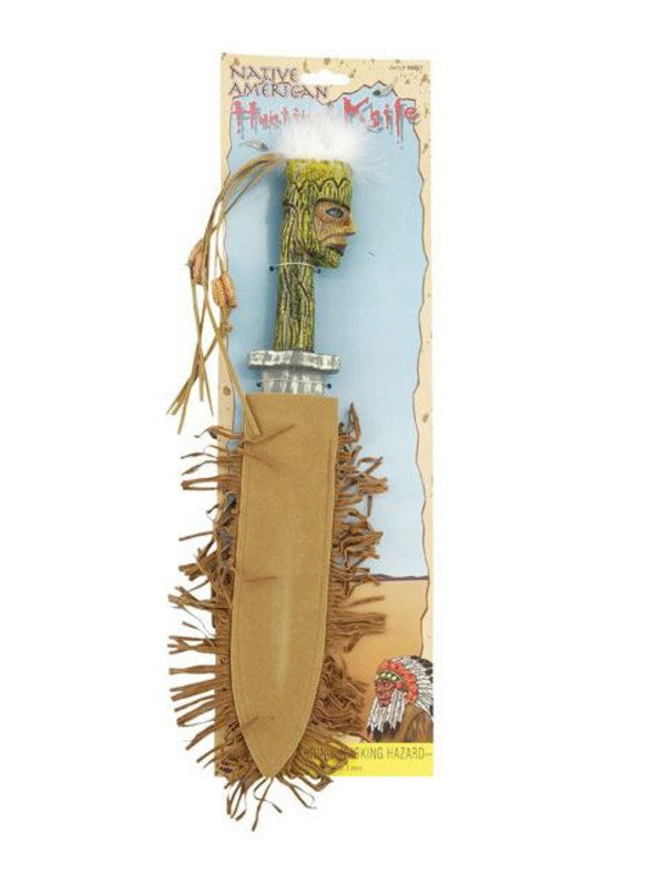 Check Out Native American Hunting Knife Halloween Indian