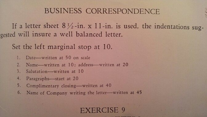 The Art of The Business Letter - Using a typewriter for business - fresh undertaking letter format for company