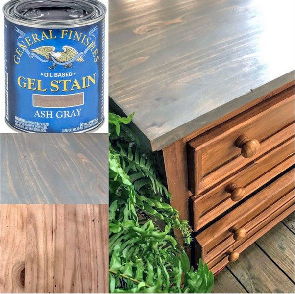 Best Ash Gray Gel Stain Gel Stain Furniture Staining 400 x 300