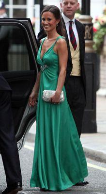 Emerald green dress by Temperley London