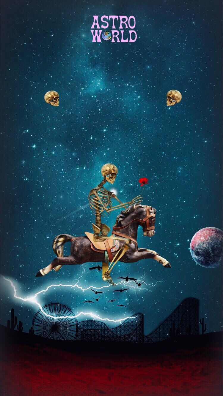 Astroworld Wallpaper panosundaki Pin
