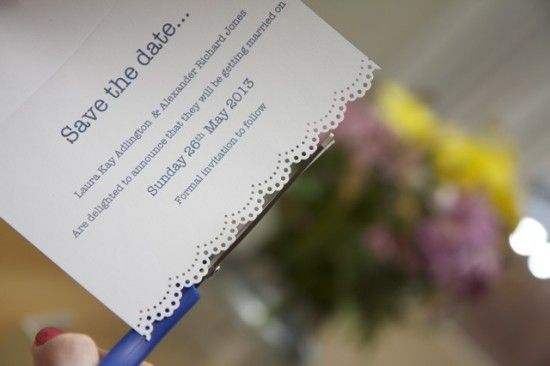 how to make rustic simple and pretty save the date wedding cards