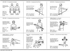 Tubing Exercises For Baseball Players Shoulder Workout Shoulder Rehab Exercises Shoulder Workout At Home
