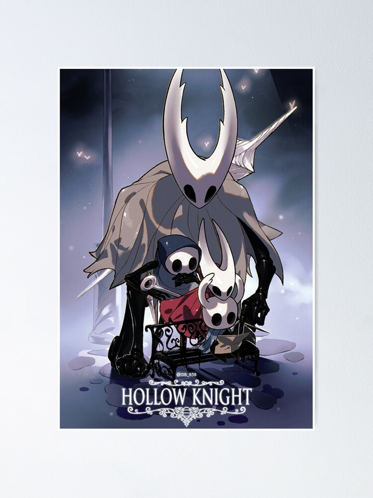 Hollow Knight Squad Poster By Theemperor Arts In 2021 Knight Squad Knight Character Art