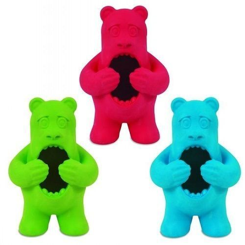 Jw Playbites Treat Bear Small Medium Dog Toy Durable Dog Toys