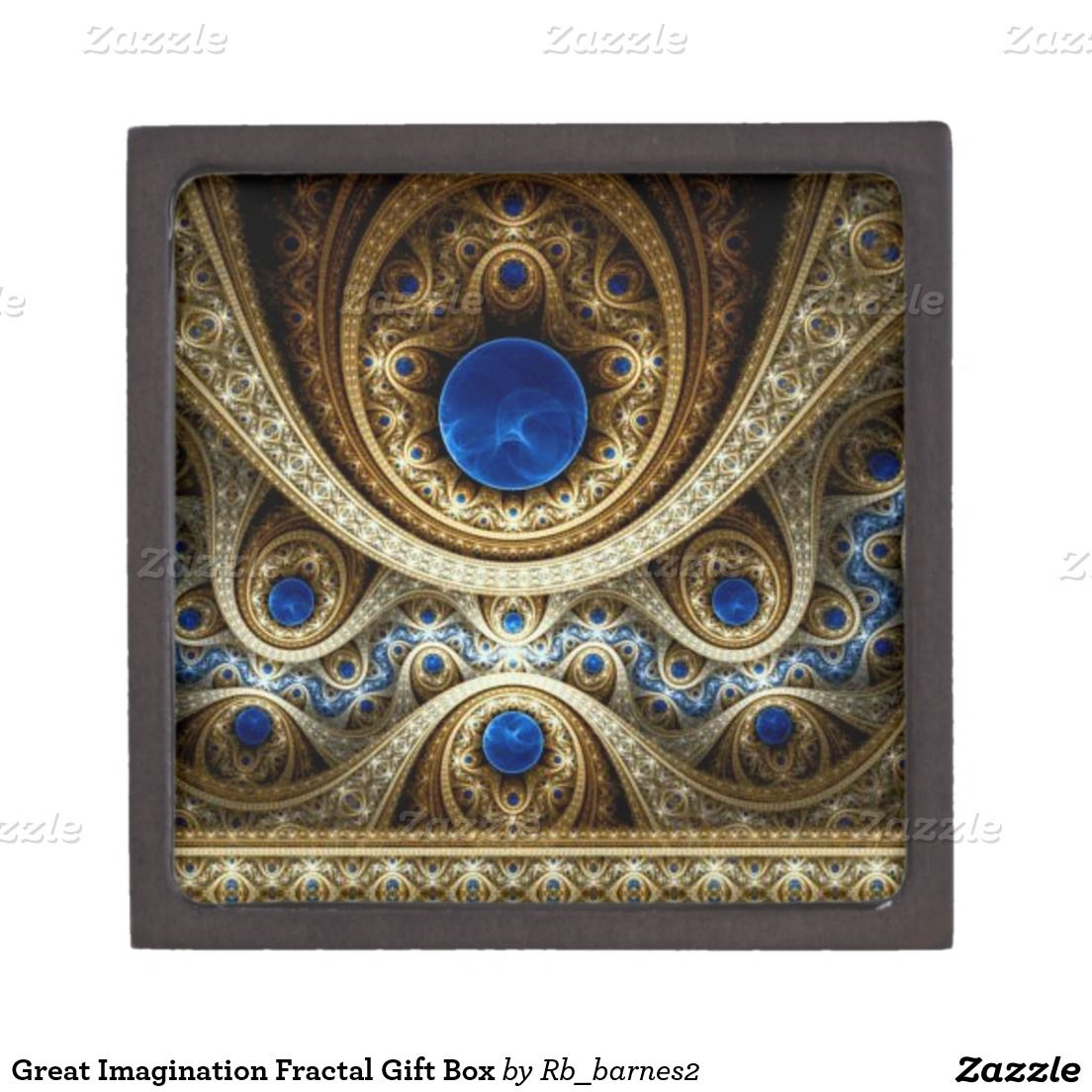 Great Imagination Fractal Gift Box Premium Keepsake Boxes