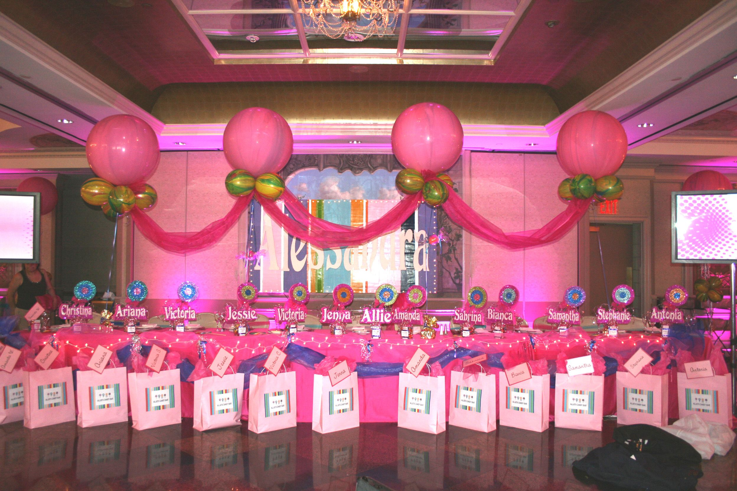 Sweet sixteen party ideas bing images holidays for 16th birthday decoration