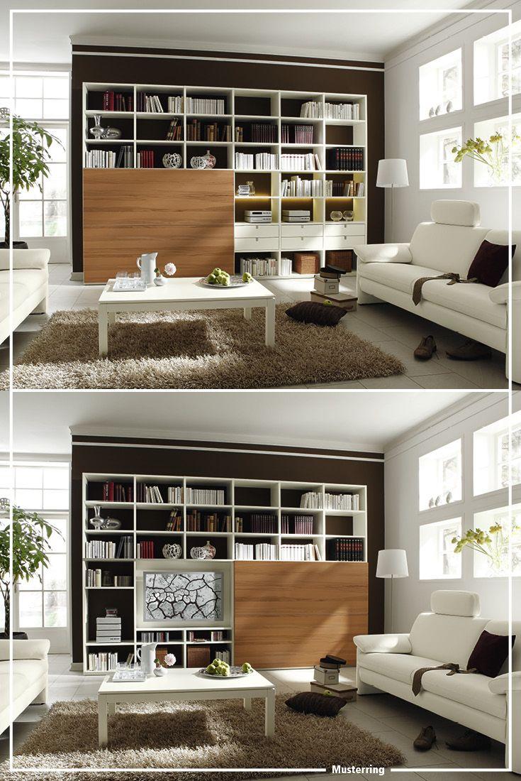 musterring kara-system wohnzimmer | living room | wohnzimmer, Wohnzimmer