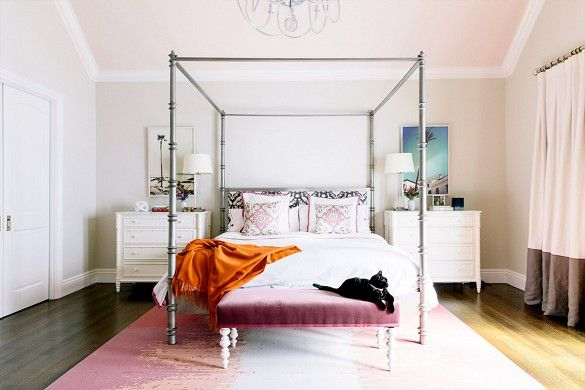 5 Totally Charming Preppy Bedrooms via @domainehome