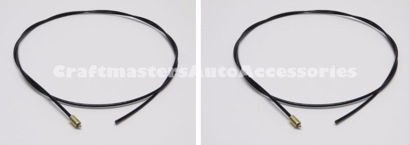 Truck cap LEER 2 cables with stops (92579) for 100XL/100XR/100XQ and ...