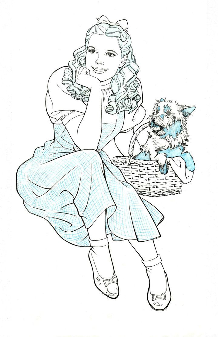 Dprpthy From Wizard Of Oz Line Drawing Google Search Wizard Of
