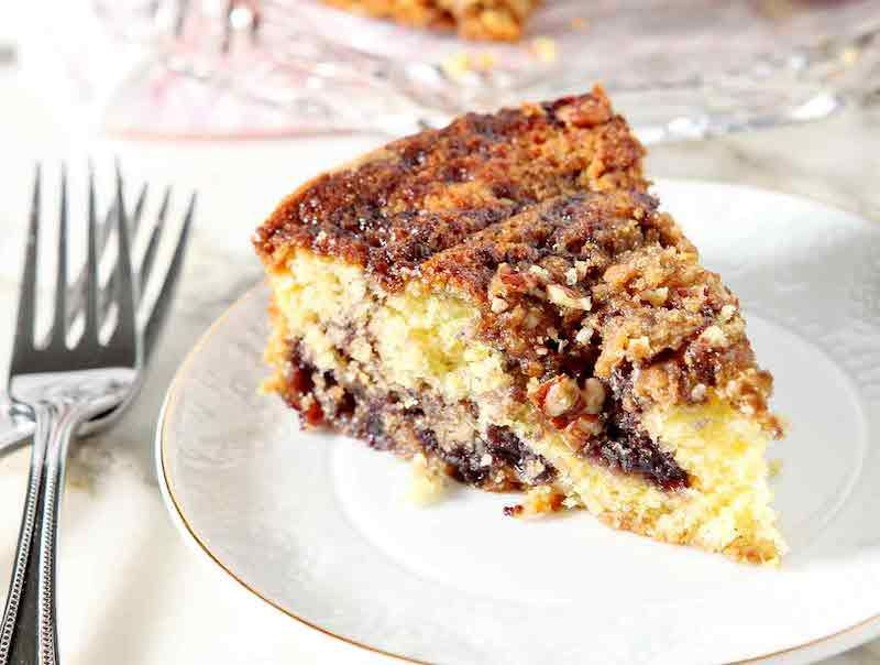 Blueberry lemon coffeecake recipe coffee cake