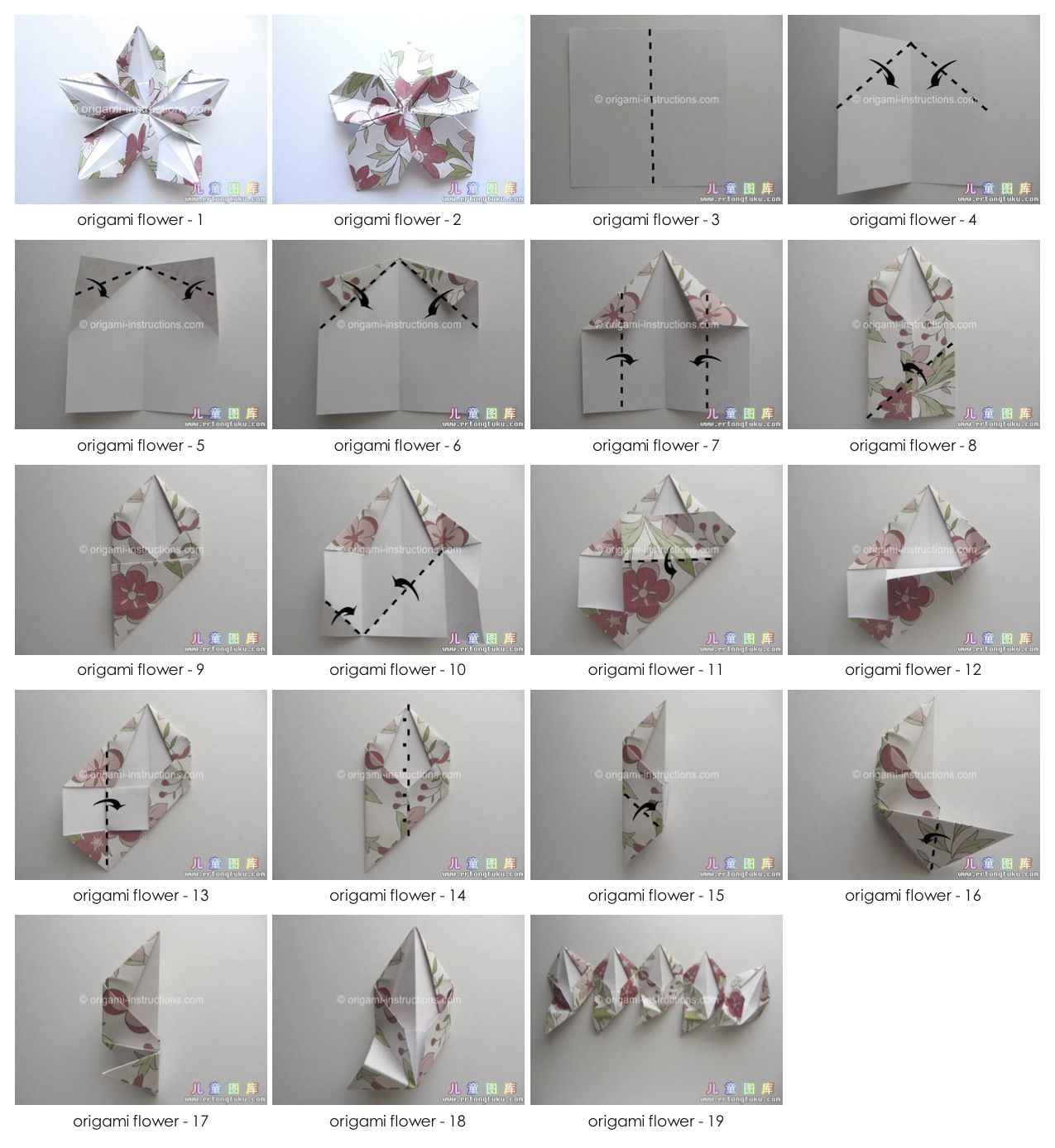 Photo diagrams for 5 point origami starflower found here http photo diagrams for 5 point origami starflower found here http mightylinksfo