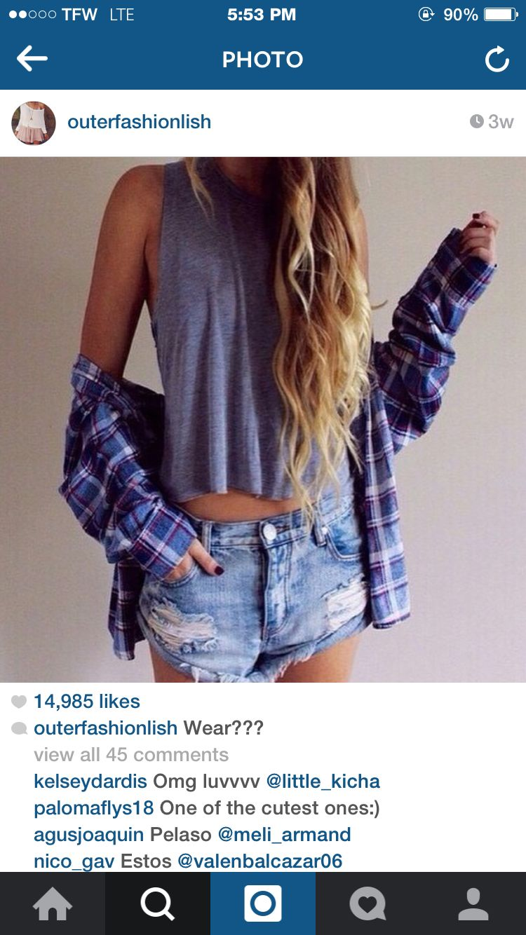 Casual flannel outfits  casual  Amanda  Pinterest  School style Bohemian and Clothes