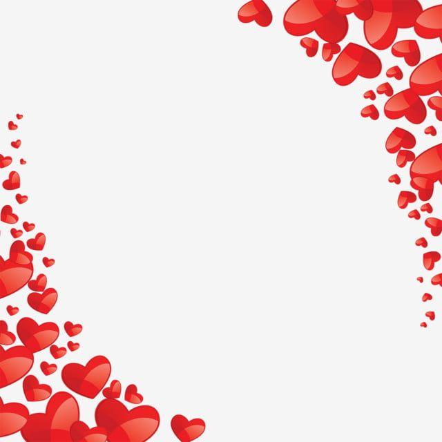 Vetor De Coracao Lindo Coracao Vermelho Quadro Imagem Png E Psd Para Download Gratuito Valentine Background Valentines Day Clipart Happy Valentines Day Clipart