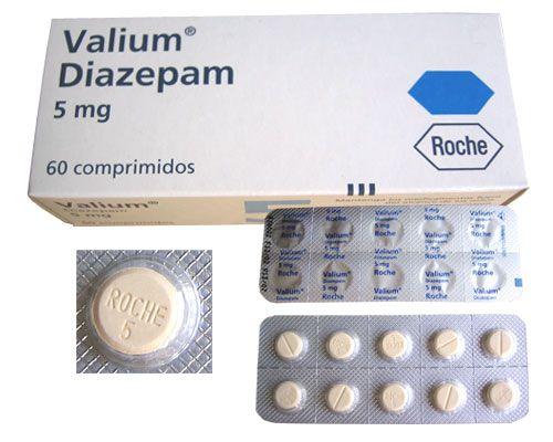 Valium used first