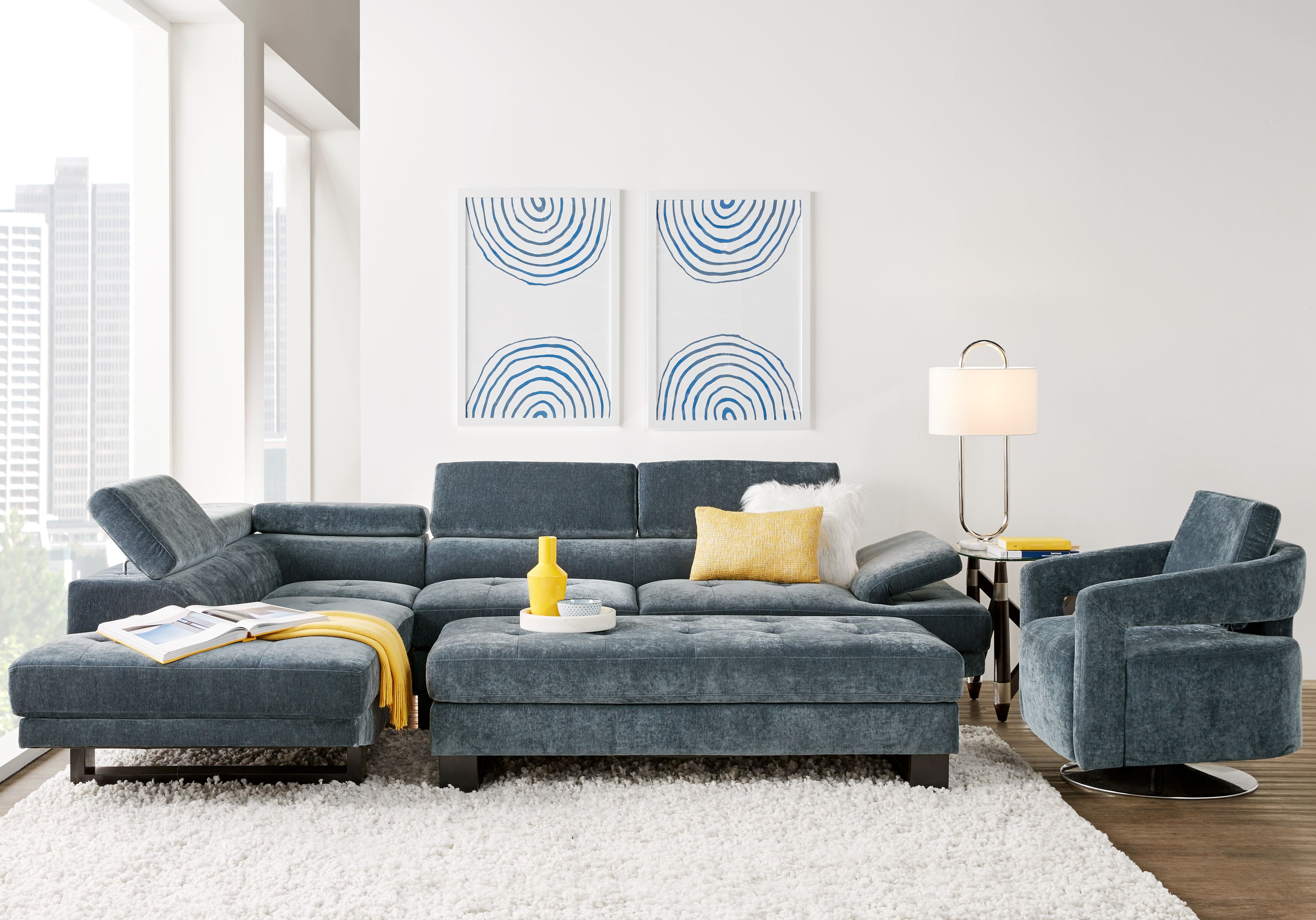 Amazing Northside Ocean 3 Pc Sectional Living Room In 2019 Living Cjindustries Chair Design For Home Cjindustriesco