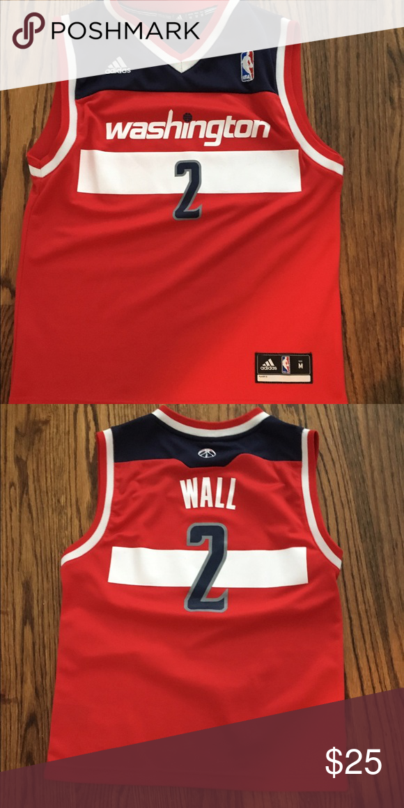 new style 21aec 0afc0 Youth Nike John Wall Jersey (Youth Medium) Worn only once ...