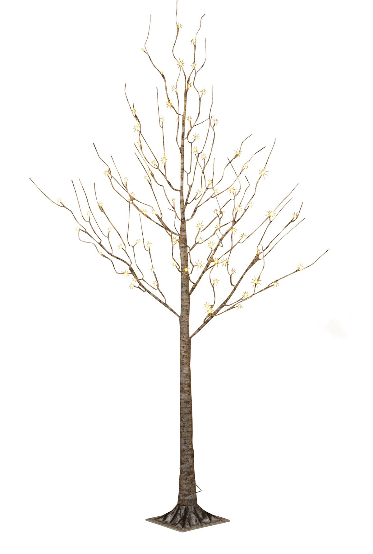 Wedding decorations trees with lights  Faux ft birch tree  Birch and Centerpieces