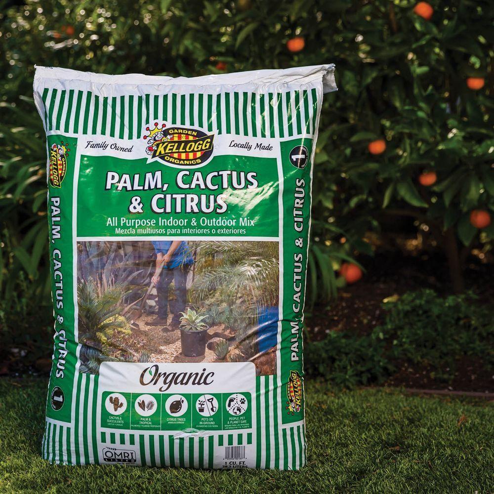 Kellogg Garden Organics 1 cu. ft. Palm, Cactus and Citrus
