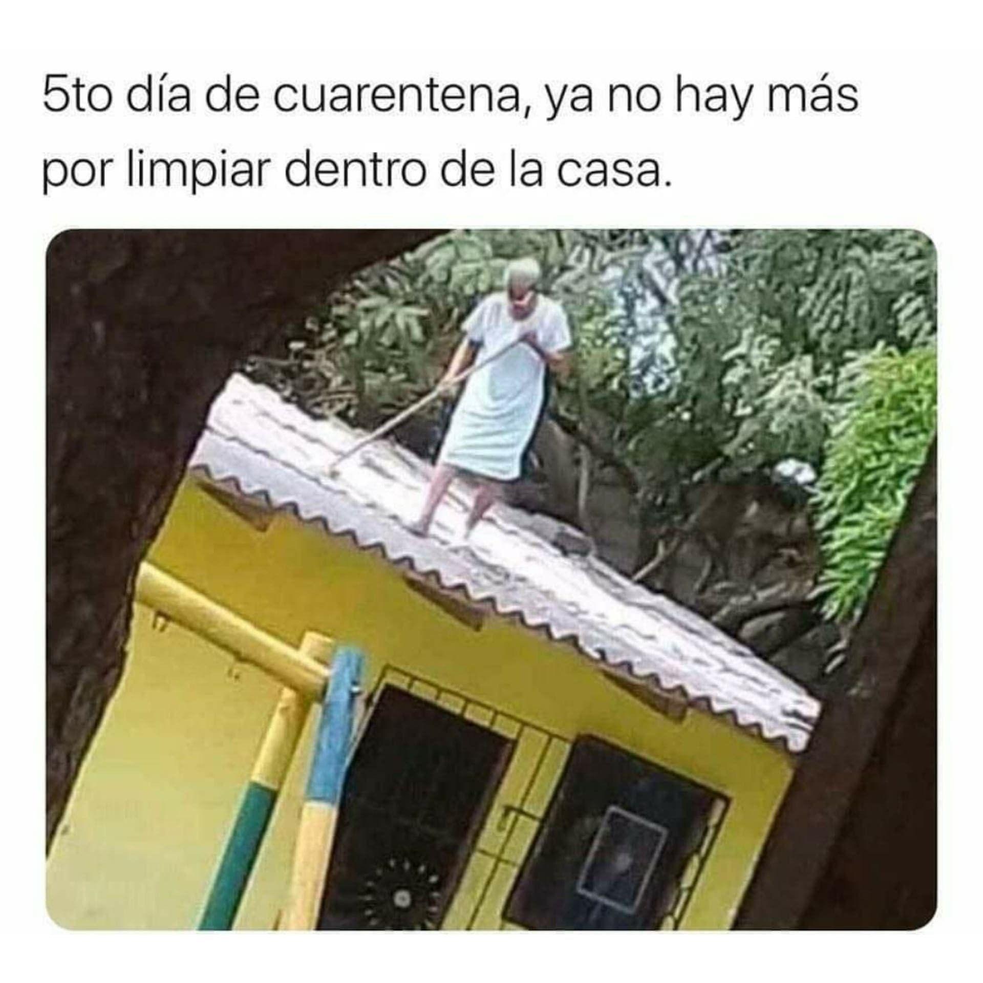 5to Dia De Cuarentena Meme Del Corona Viruz En 2020 Con Imagenes
