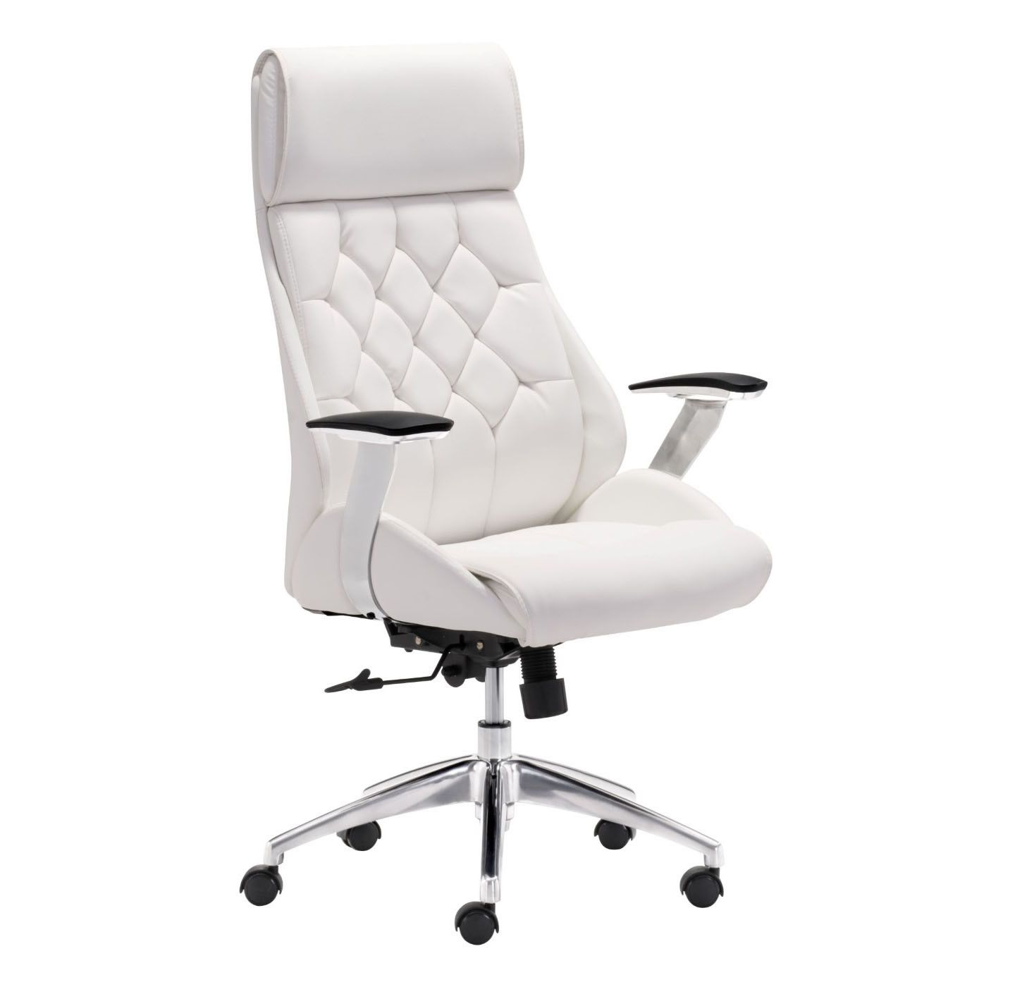 Nice Fancy Modern White Office Chair 72 On Home Designing Inspiration With  Modern White Office Chair