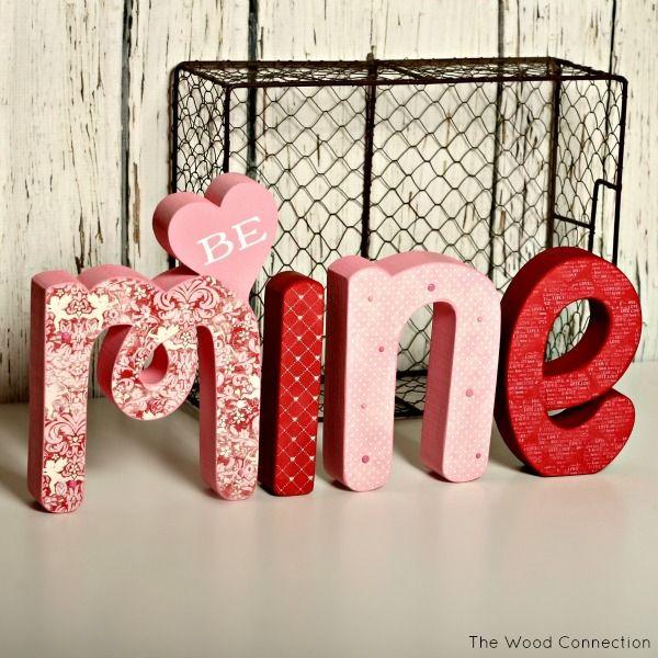 Valentineu0027s Day   Be Mine Letter Set