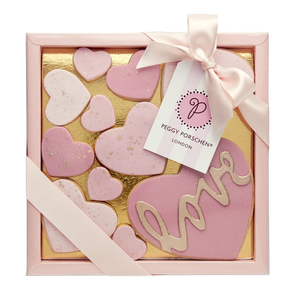 Peggy Porsche - Love Heart Cookie Box - Large | Cookie Inspirations ...