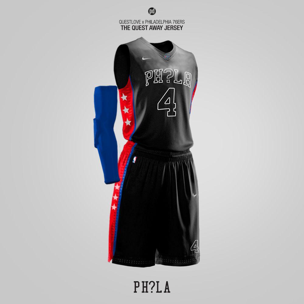 4641adcdb0b Nike x Hip-Hop Artists - Rebrand for 15 NBA Teams on Behance ...