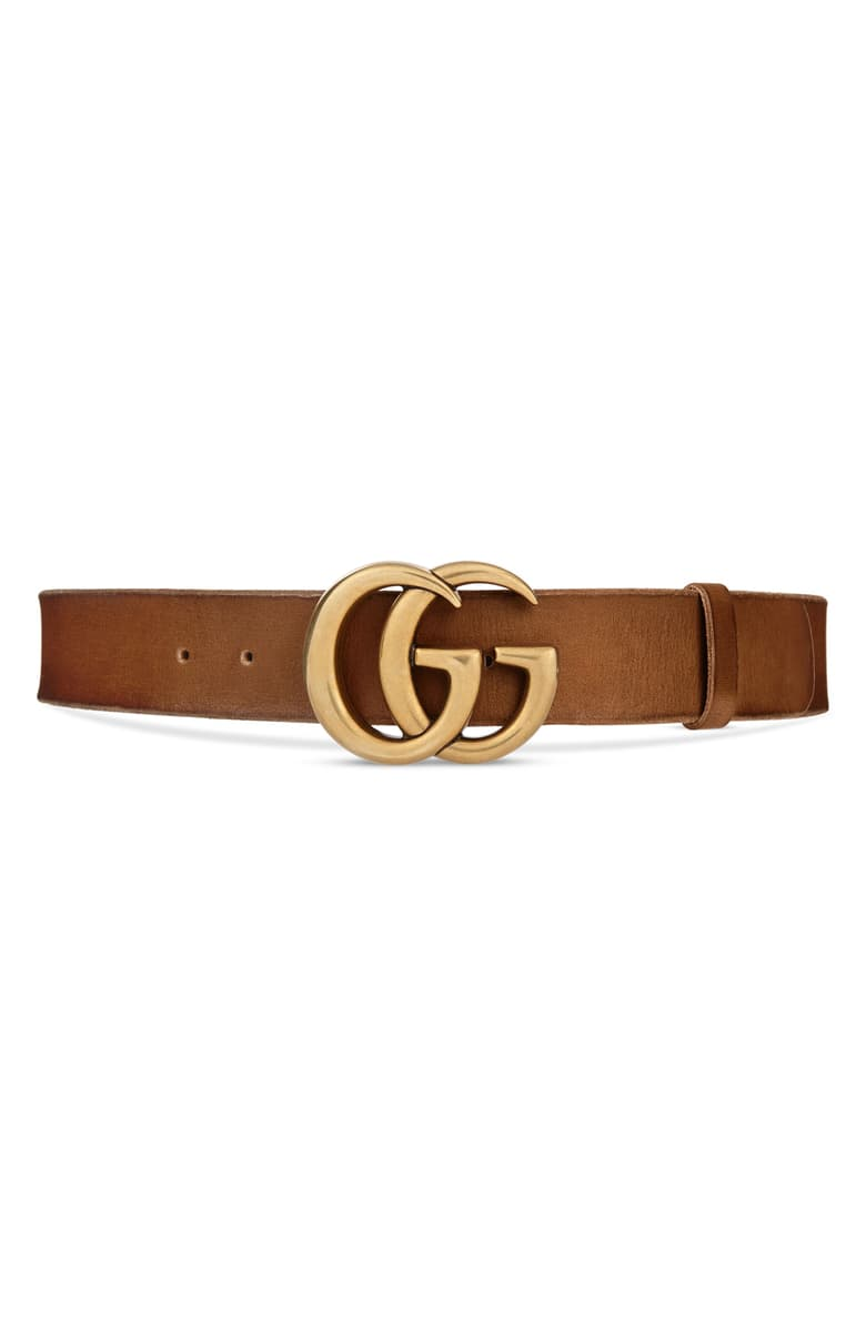 Gucci Gg Logo Buckle Leather Belt Nordstrom Gucci Leather Belt Gucci Leather Gucci Belt