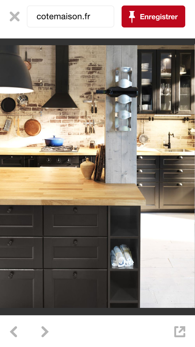 Poteau Sur Ilot Cuisine Ikea Cuisine Moderne Meuble Cuisine