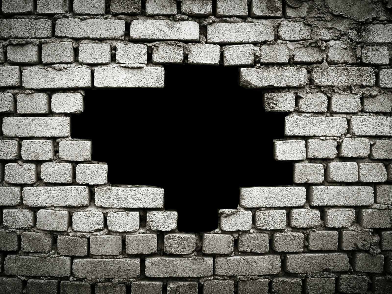 Broken brick wall google search vorlagen posing for Wall art templates free