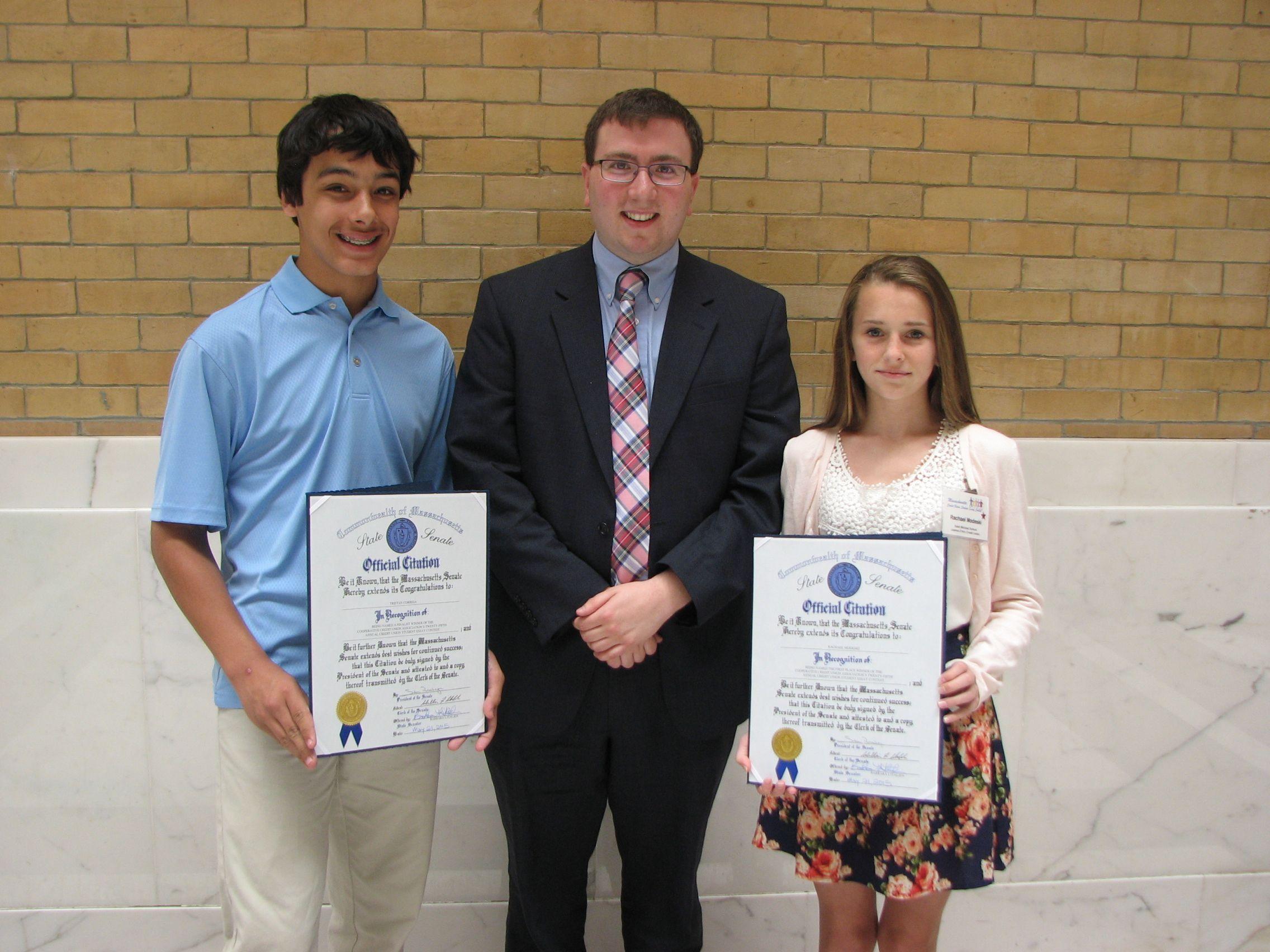 Awards Ceremony & Luncheon | Massachusetts Student Essay Contest