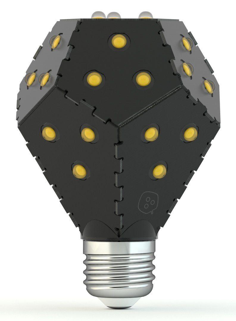 nanoleaf bloom led lampe dimmbar ohne dimmer ersetzt 75. Black Bedroom Furniture Sets. Home Design Ideas