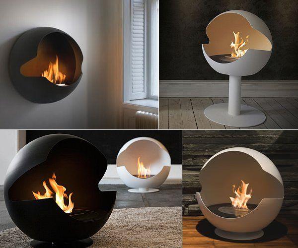 Vauni Τζάκια Globe Kamin Pinterest Gelkamin, Kamin Bilder - wohnzimmer kamin ethanol