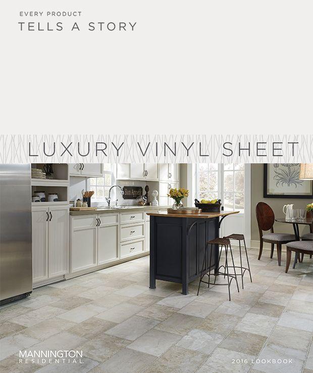 luxury vinyl flooring in tile and plank styles mannington vinyl sheet flooring with images on kitchen remodel vinyl flooring id=66583