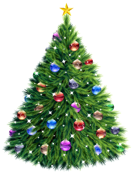 Transparent Christmas Tree Clipart | Rosa weihnachtsbaum ...