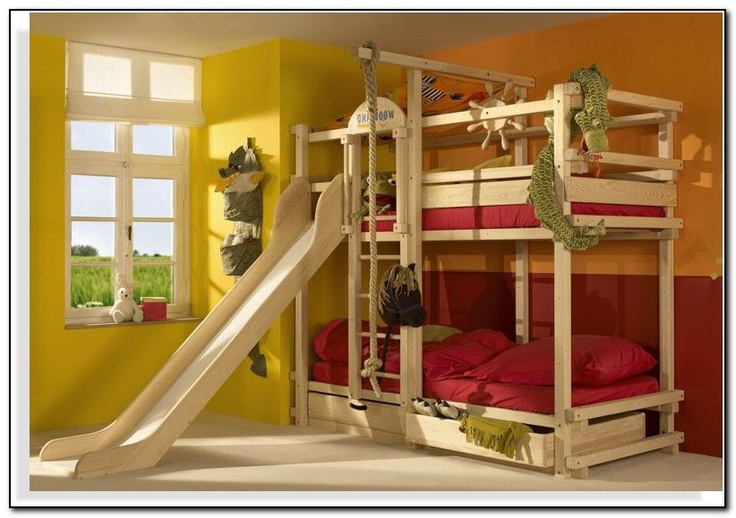 Ikea Bunk Bed Slide Cool Bunk Beds Bunk Bed With Slide Bunk