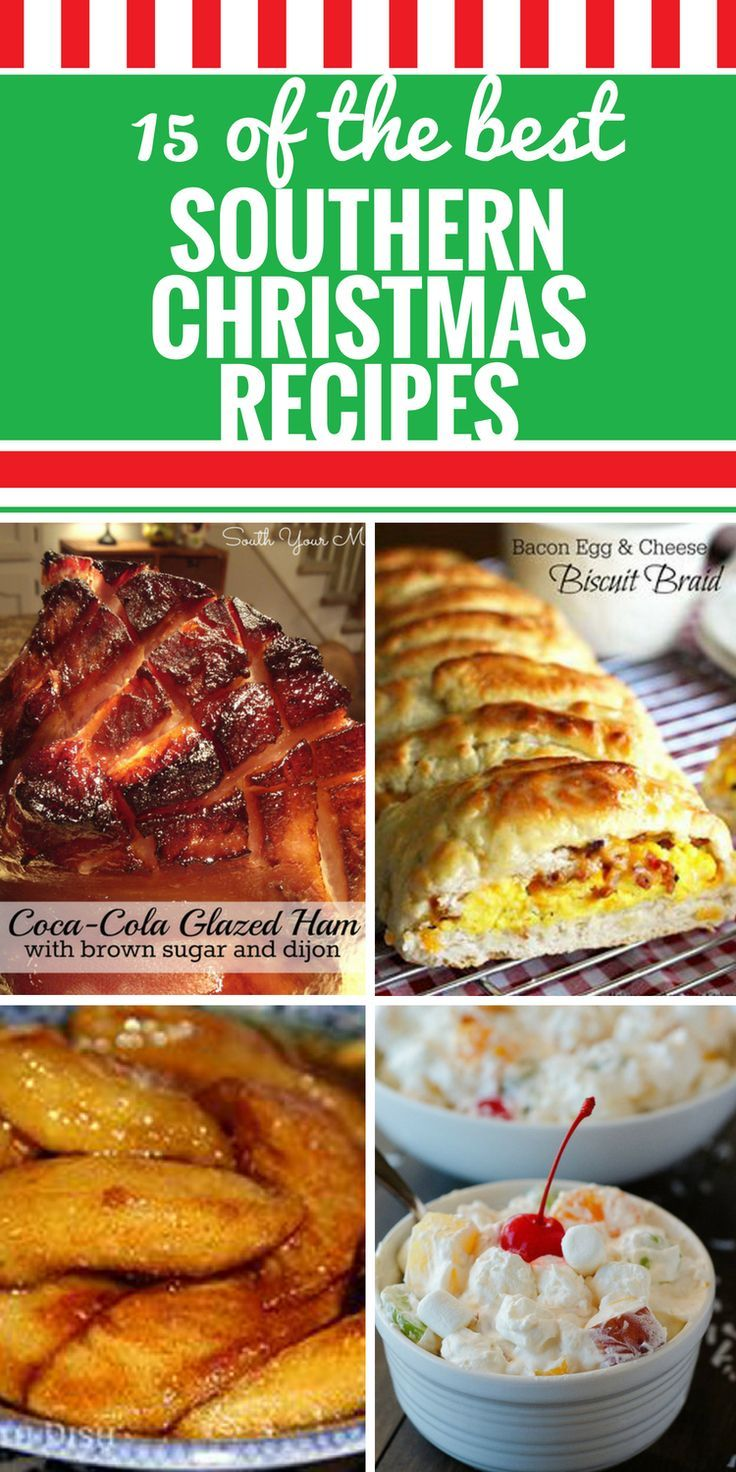 Photo of 15 Southern Christmas Recipes – My Life and Kids
