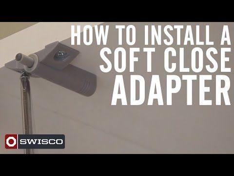 How To Install A Soft Close Adapter For Cabinet Doors And Drawers Youtube Cabinet Doors Helpful Hints Closer