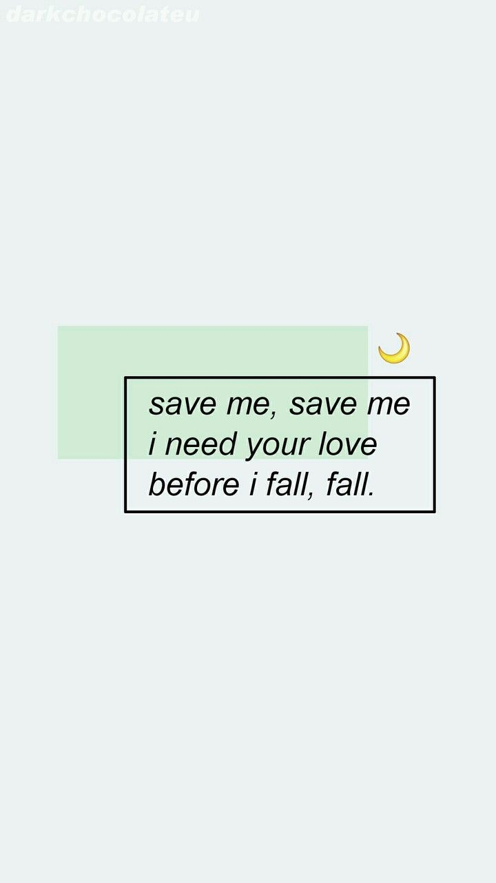 Bts Save Me Lyric