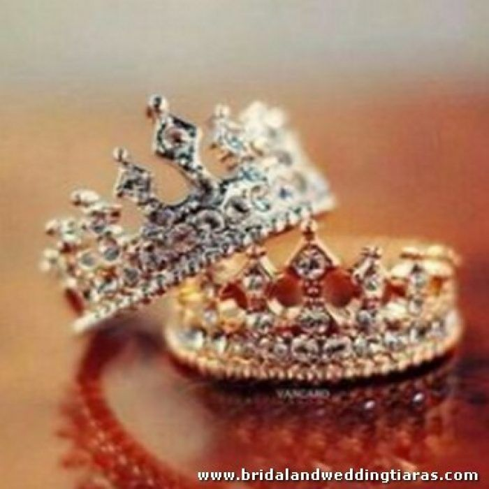 King And Queen Crown Wedding Rings Wedding Ring Rings Jewelry