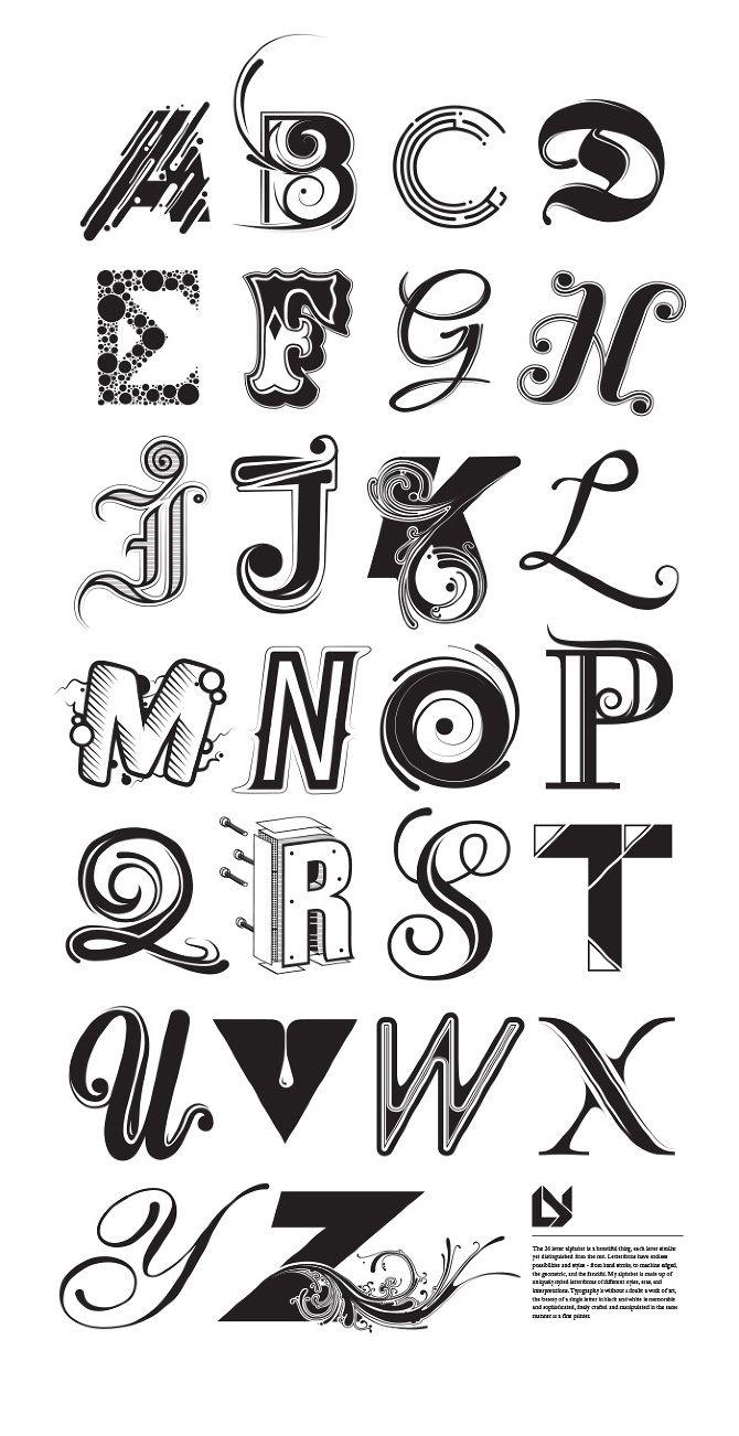 Alphabeta Ly Design レタリング 字体 文字デザイン